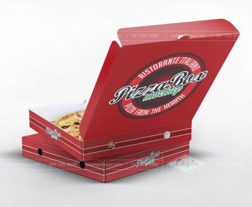 Hộp Pizza mẫu 04