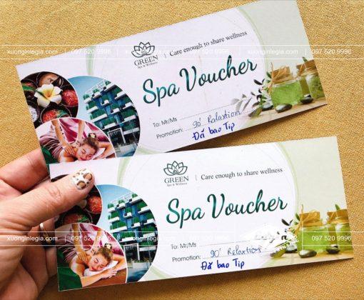Voucher Spa sale 20%