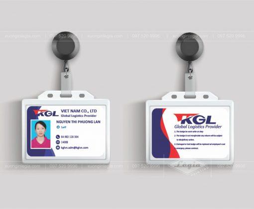 Thẻ nhựa Thẻ giữ xe